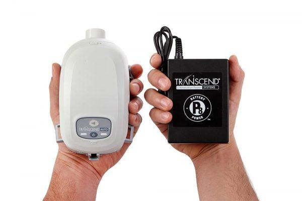 Transcend Travel CPAP & P8 Battery