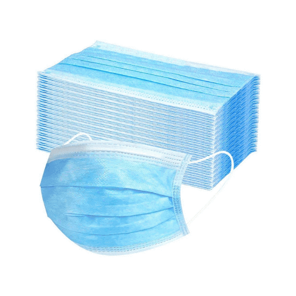 Disposable antibacterial face masks